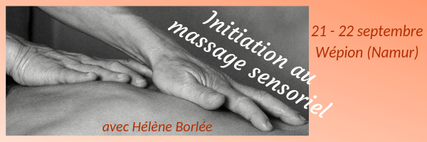 Initiation au massage sensoriel
