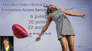 Affiche classes Access Bars Catherine