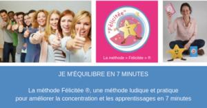 JE M'ÉQUILIBRE EN 7' avec la méthode Félicitée ® (Cannes) @ 1 2 3 Soleil - École Montessori (Cannes)