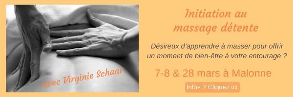 Initiation au massage détente