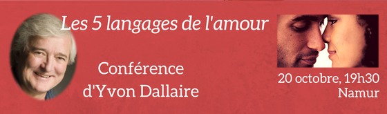 Les 5 grands langages de l'amour, conférence