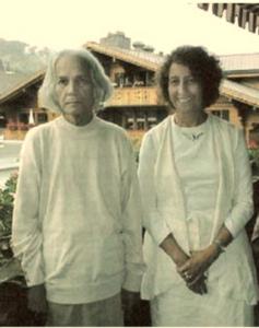 Prabhã Calderón et U.G. Krishnamurti, la voix du Cœur