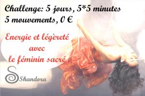 SHANDORA CHALLENGE (GRATUIT) @ on line --> chez vous !