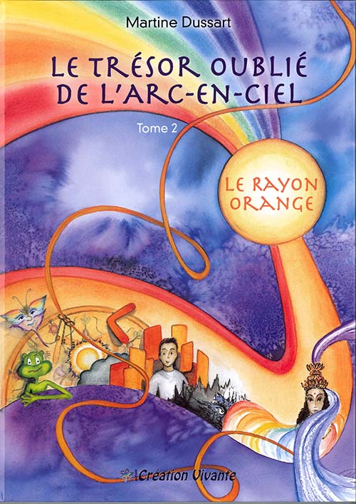livre arc-en-ciel Tome 2 Orange