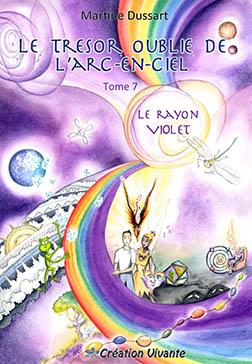 Le trésor oublié de l'arc-en-ciel tome 7 Violet