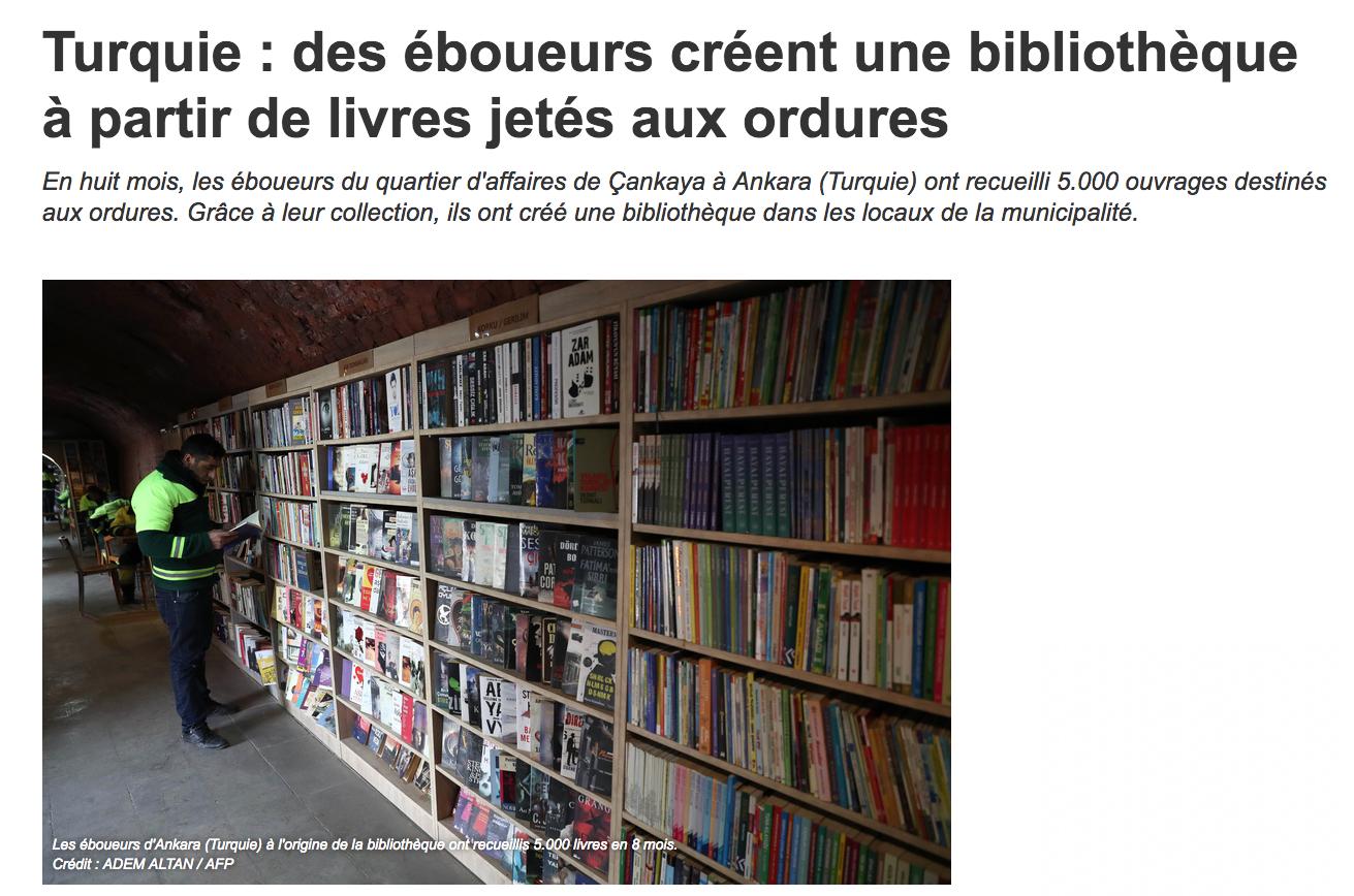 Bibliothèque en Turquie