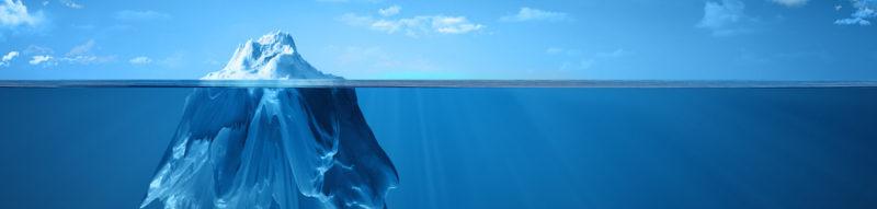 iceberg, scénario de vie