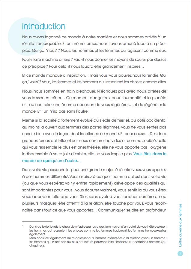 Lettre ouverte aux femmes page 3