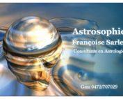 Françoise Sarlet Carte de visite astrologie